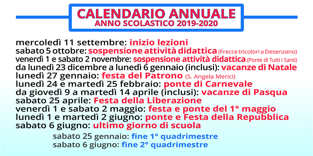 Calendario Pagamenti Pensioni 2020.Iiss Bazoli Polo